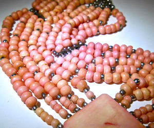 artisan, pendant necklace, and coral jewelry image