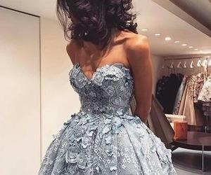 amazing, brunette, and dress image