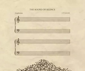 music, musician, and silence image