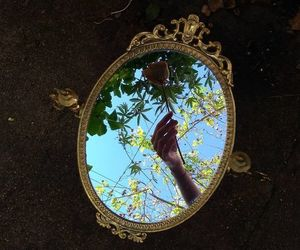 aesthetic, art, and mirror image