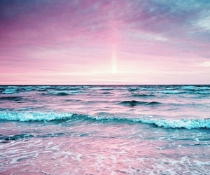 beach, beautiful, and color image