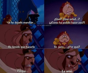 beast, beauty and the beast, and disney image
