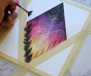art, colourful, and creative image