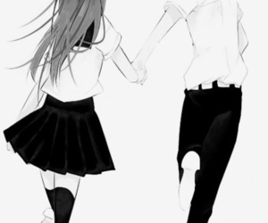 couple, love, and manga image