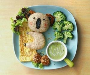 food, Koala, and cute image