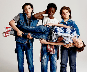 boys, cute, and stranger things image