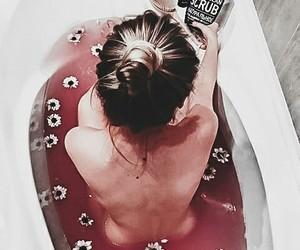 bath, girls, and inspiration image