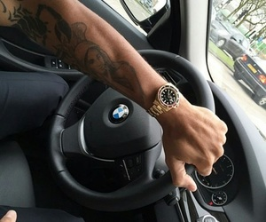bmw, car, and watch image