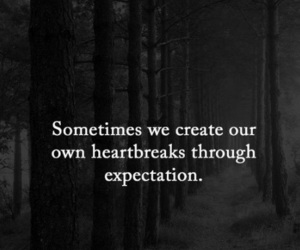 expectation and heartbreak image