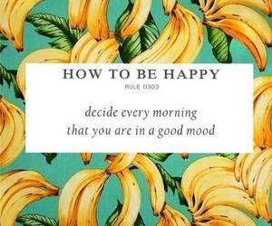 happy, quotes, and banana image