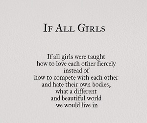 confidence, girls, and love image