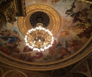 beuty, ceiling, and fancy image