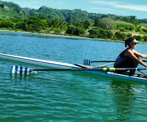 lago, lake, and row image