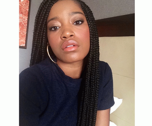 braids, keke palmer, and box braids image
