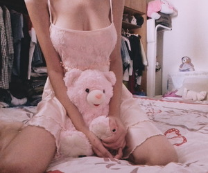 teddy bear, babygirl, and daddy kink image