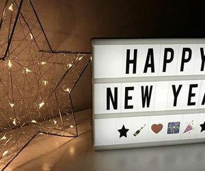 happy new year and feliz año nuevo image