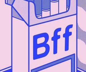 bff, mejores amigos, and cigarrillos image