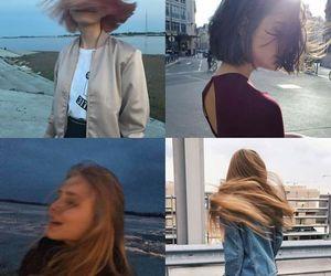 hair, short hair, and cabello largo image