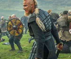 thor, alexander ludwig, and vikingos image
