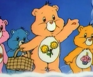 aesthetic, vintage, and care bears image