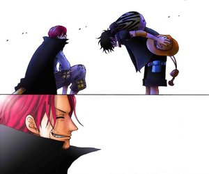 one piece, manga, and shanks image