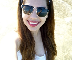 beach, ocean, and smile image