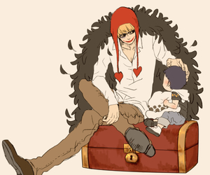 Law, corazon, and one piece image