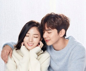 couple, kdrama, and i'm not a robot image