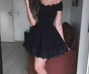 vestidos negros and vestidos cortos image