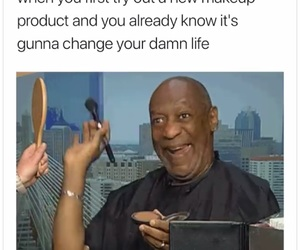make up, memes, and true image