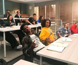 college, tv, and blackish image