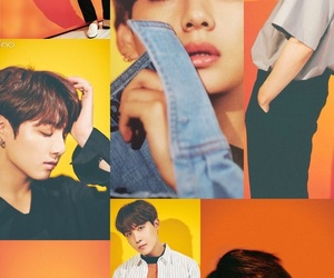 Collage, kpop, and wallpaper image