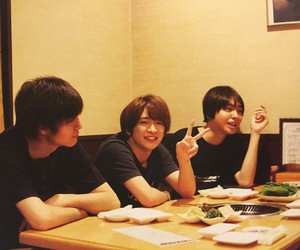 hey! say! jump, 知念侑李, and 薮宏太 image