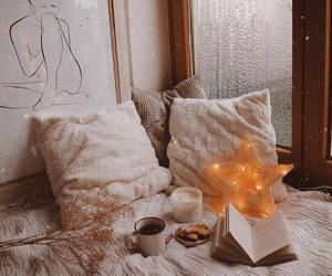 bedroom, books, and cozy image