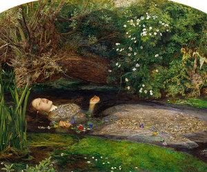 art, Hamlet, and ophelia image