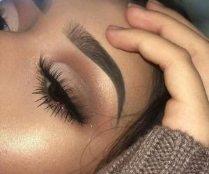 beauty, eyeshadow, and fashion image