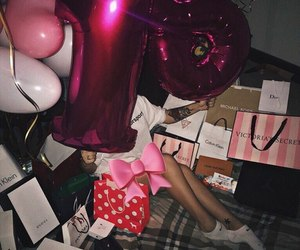 18, balloons, and Calvin Klein image