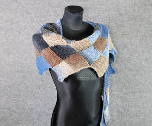 unisex scarf, etsy, and wool image
