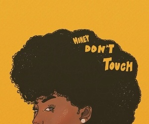 Afro, art, and yellow image