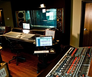 music and recording studio image
