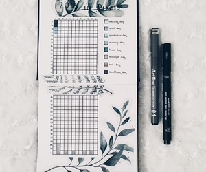creative, journal, and mood image