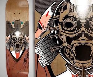 art, diseno, and cyberpunk image