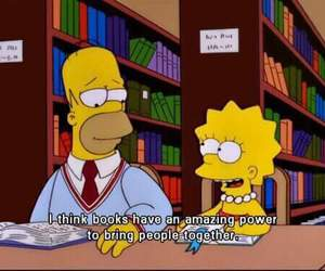 book, the simpsons, and simpsons image