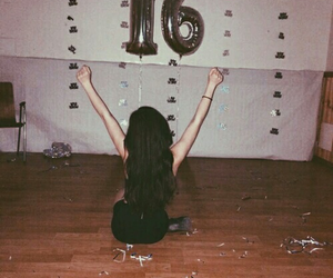 party, 16, and grunge image