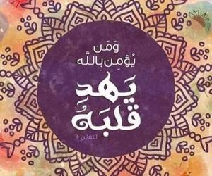 سورة التغابن and آية ١١ image
