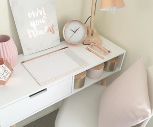 room, run, and rose gold image