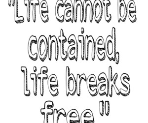 breaking free, life, and quotes image