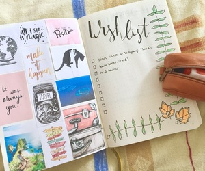agenda, inspiration, and note book image