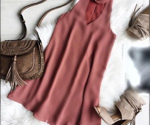 cute dress, dress, and cute outfit image