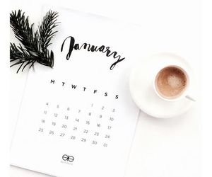 coffee, inspiration, and january image